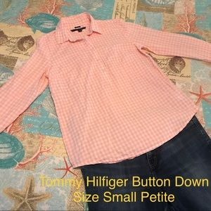 Tommy Hilfiger Relaxed Fit Button Down Size SP
